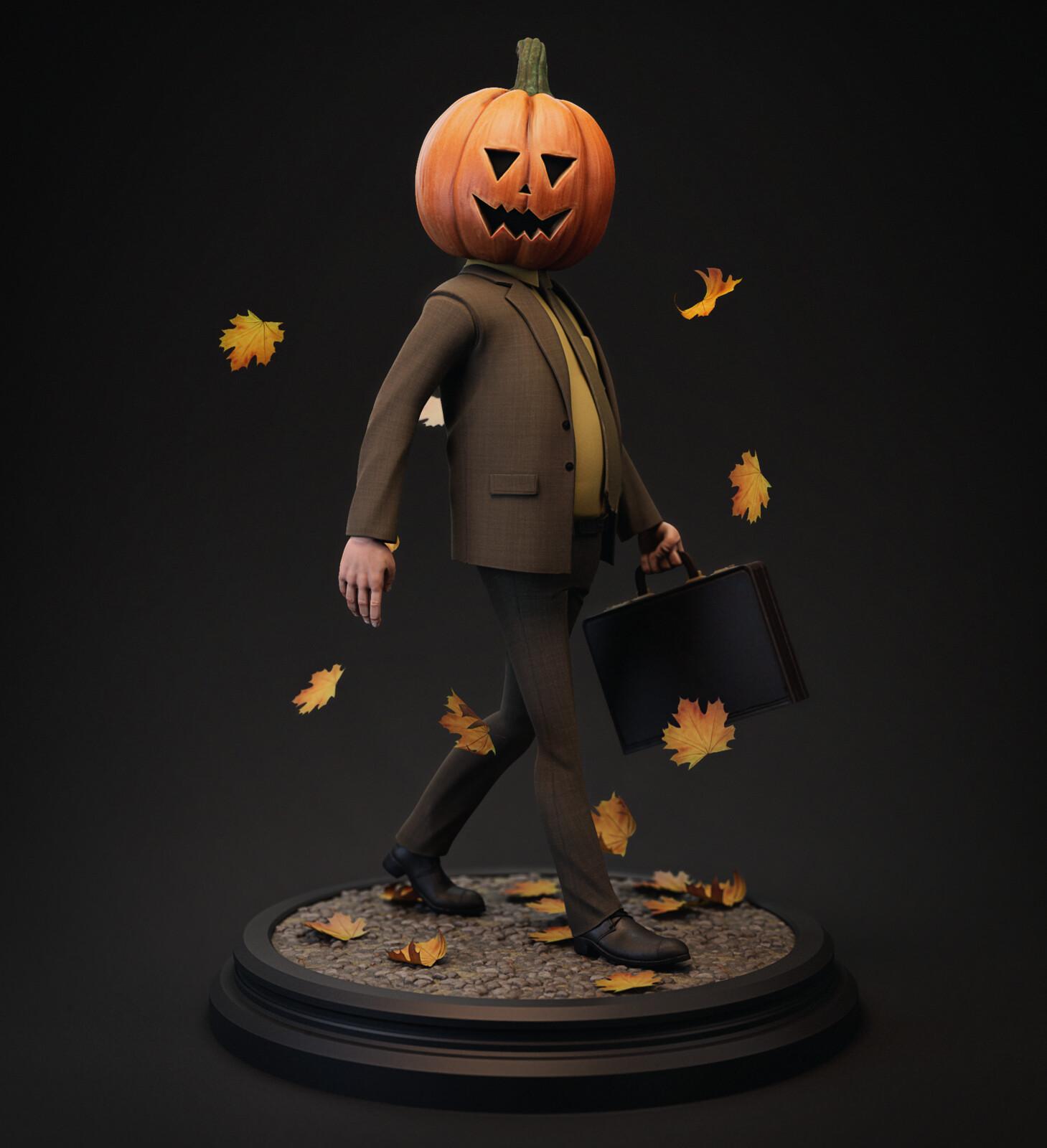 Pumpkin Dwight