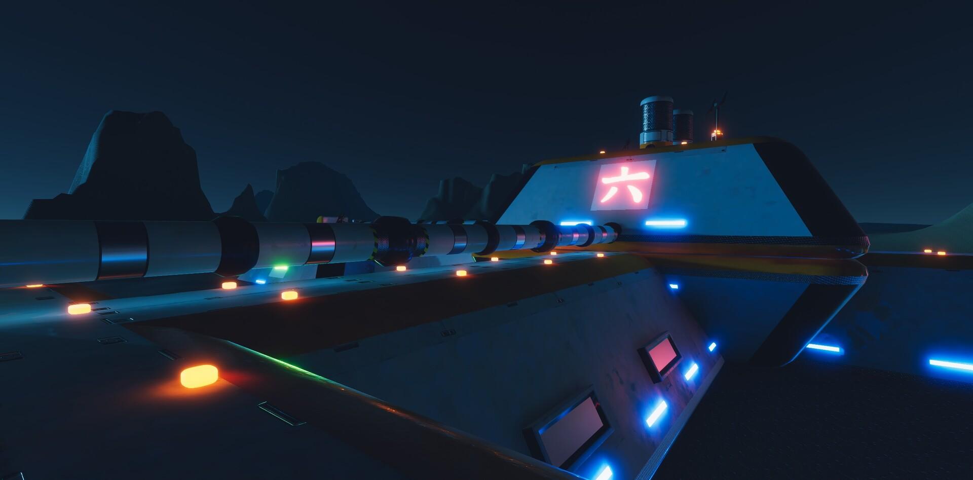 Enrico ottonello screenshot06 sci fi building exterior pack gameartifact