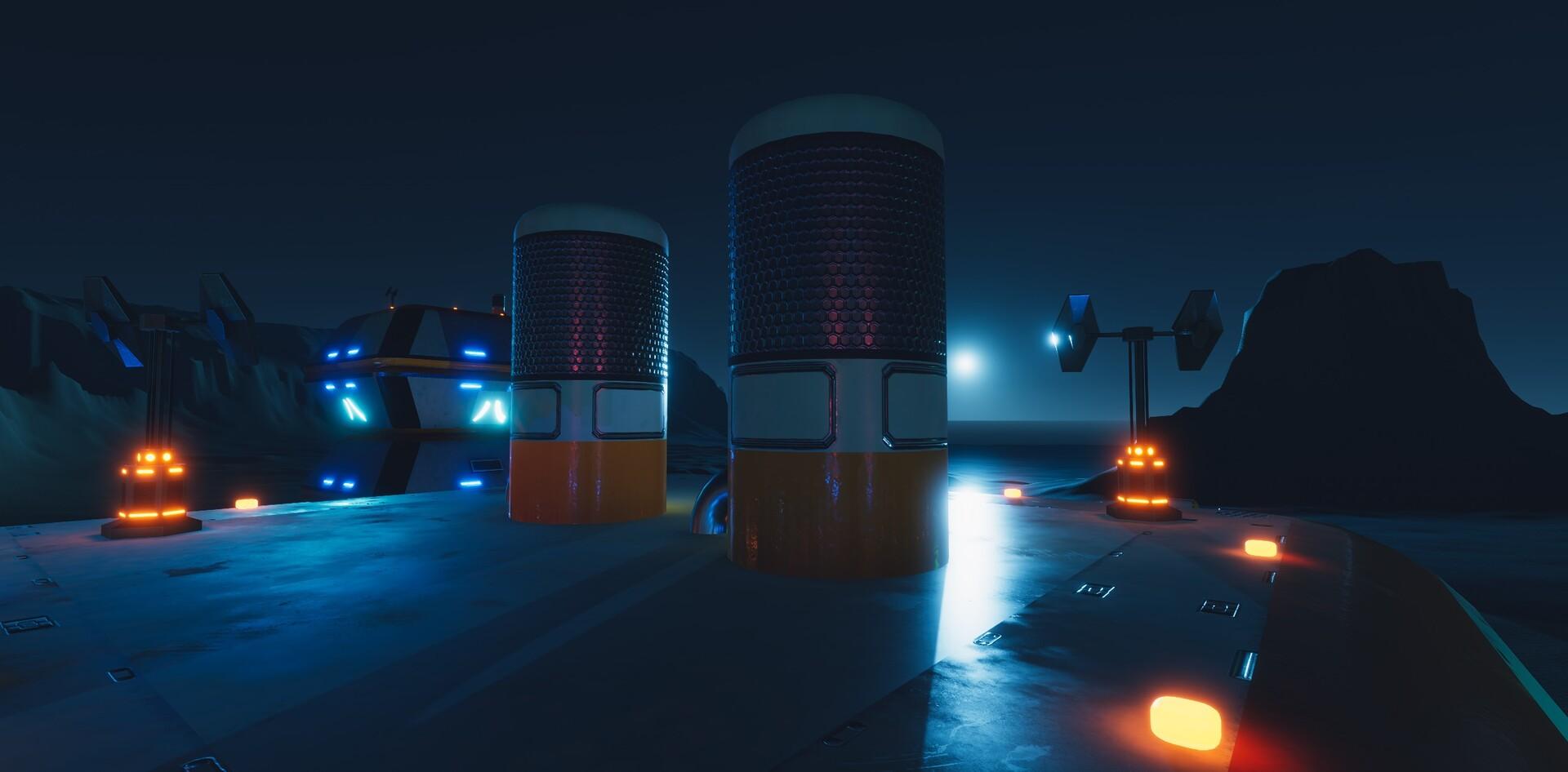 Enrico ottonello screenshot08 sci fi building exterior pack gameartifact