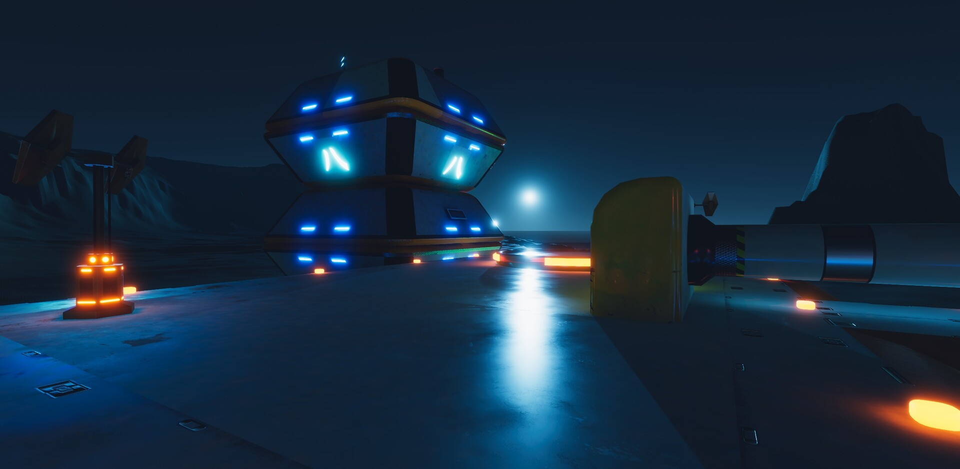 Enrico ottonello screenshot05 sci fi building exterior pack gameartifact