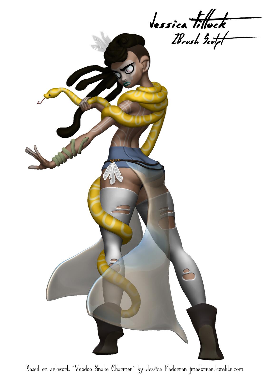 Voodoo Snake Charmer