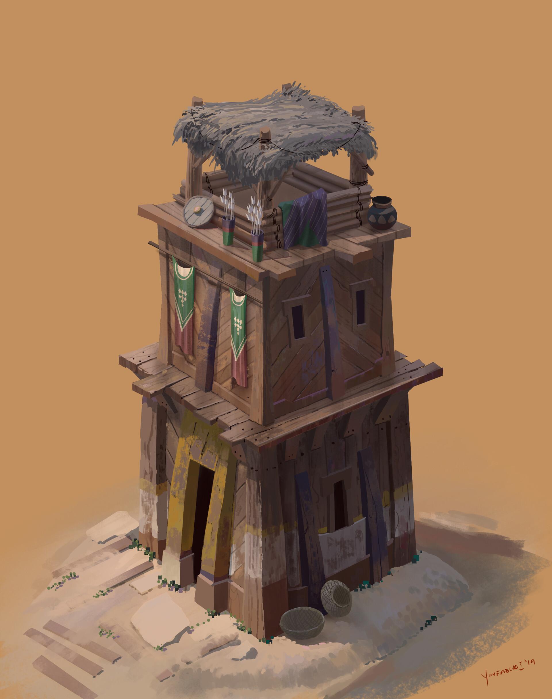 Harrison yinfaowei watch tower