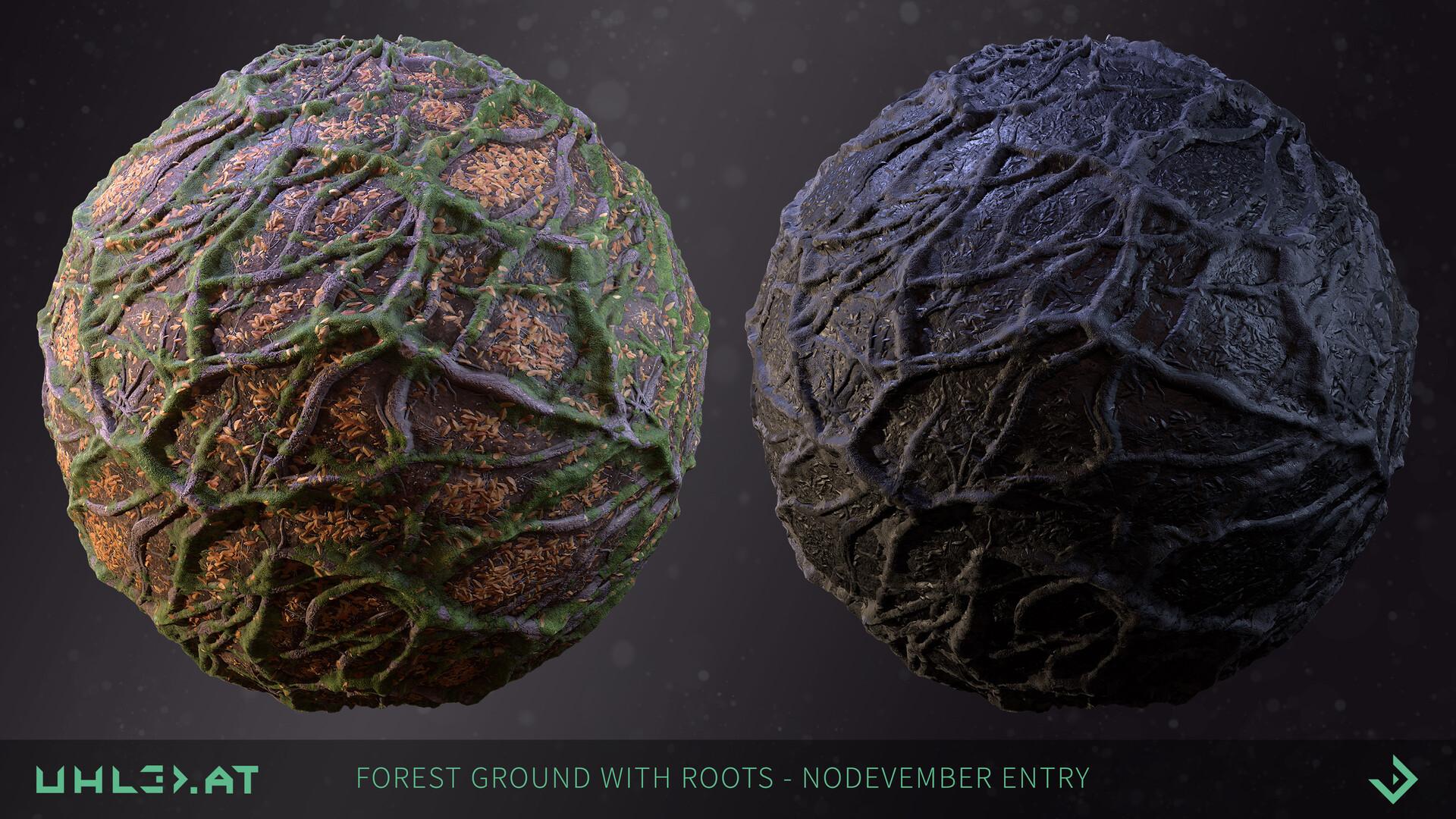 Dominik uhl organic woodgrounds with roots 01
