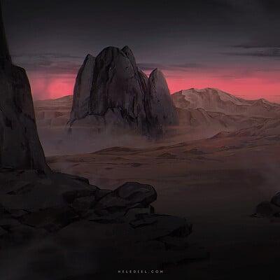 Nele diel mysterious rocks