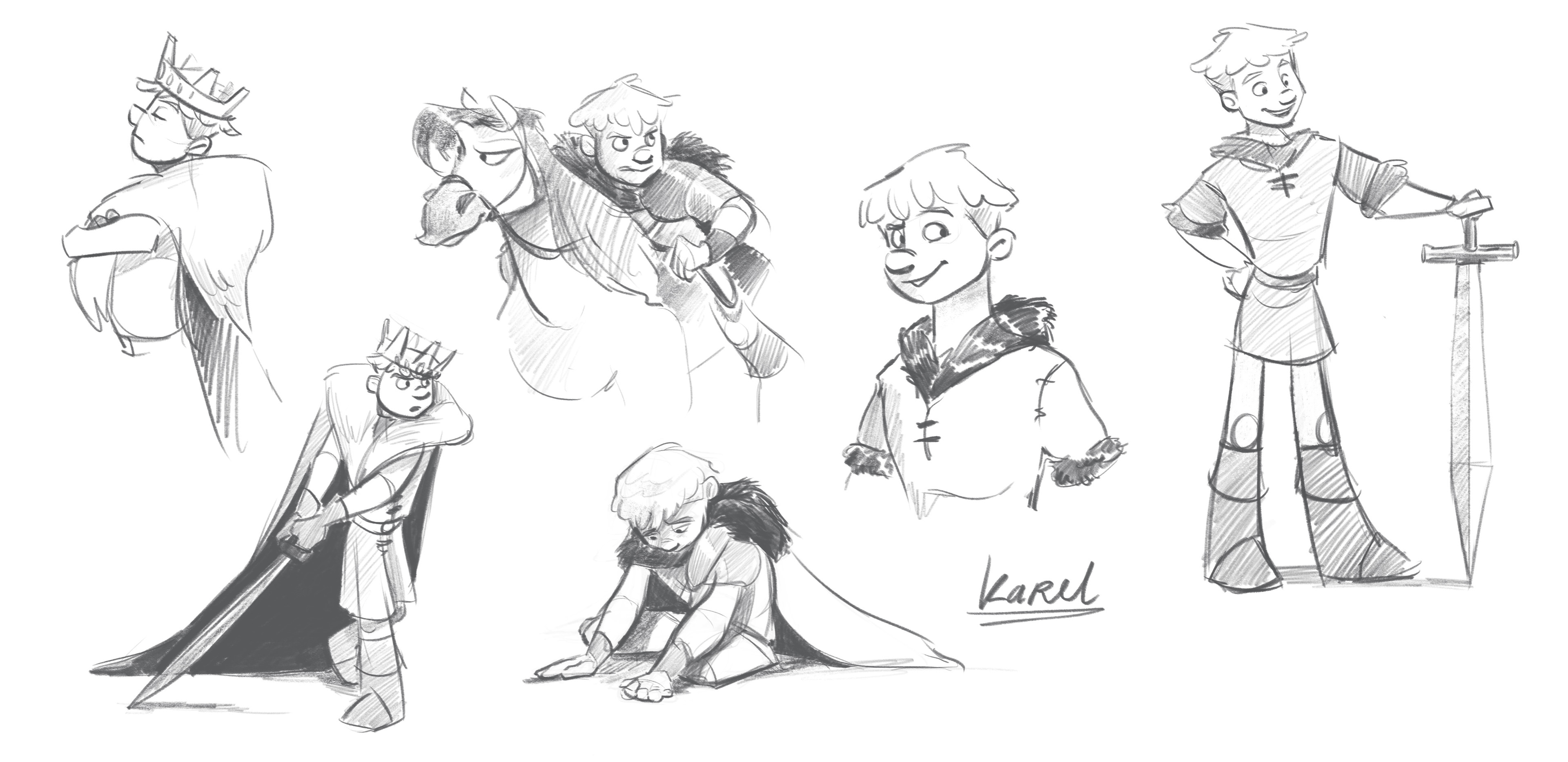 Karel Character Sheet