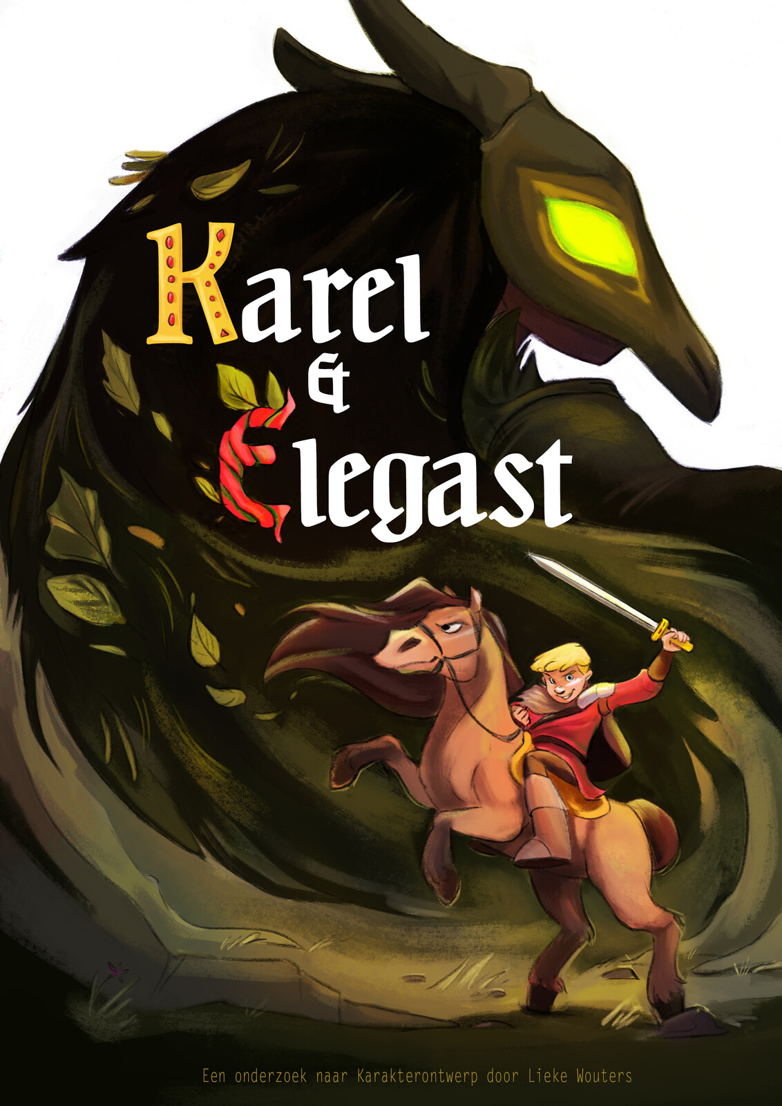 Karel & Elegast Project Poster - Character Development - Expo