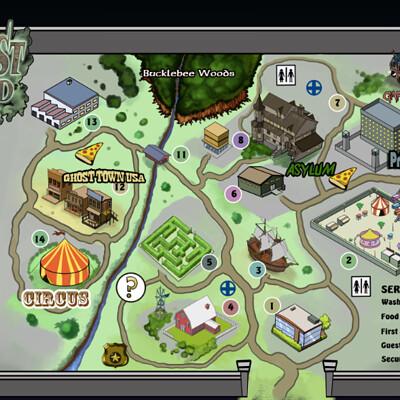 Michael tenebrae ralston map