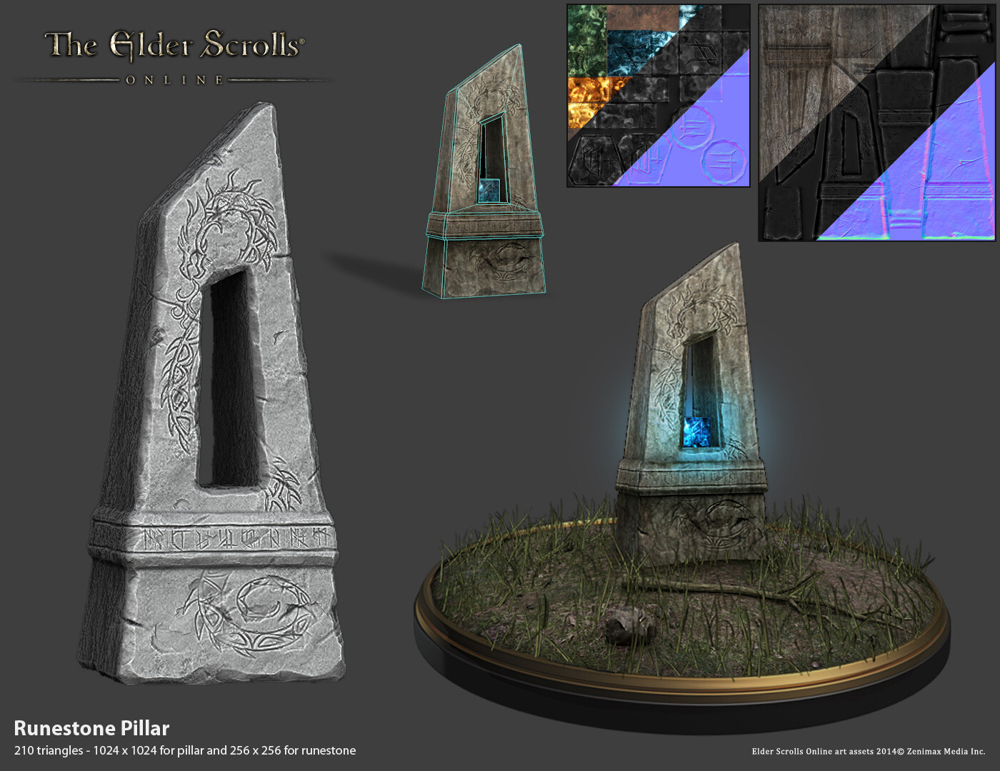 Rune Stone Pillar created for ESO