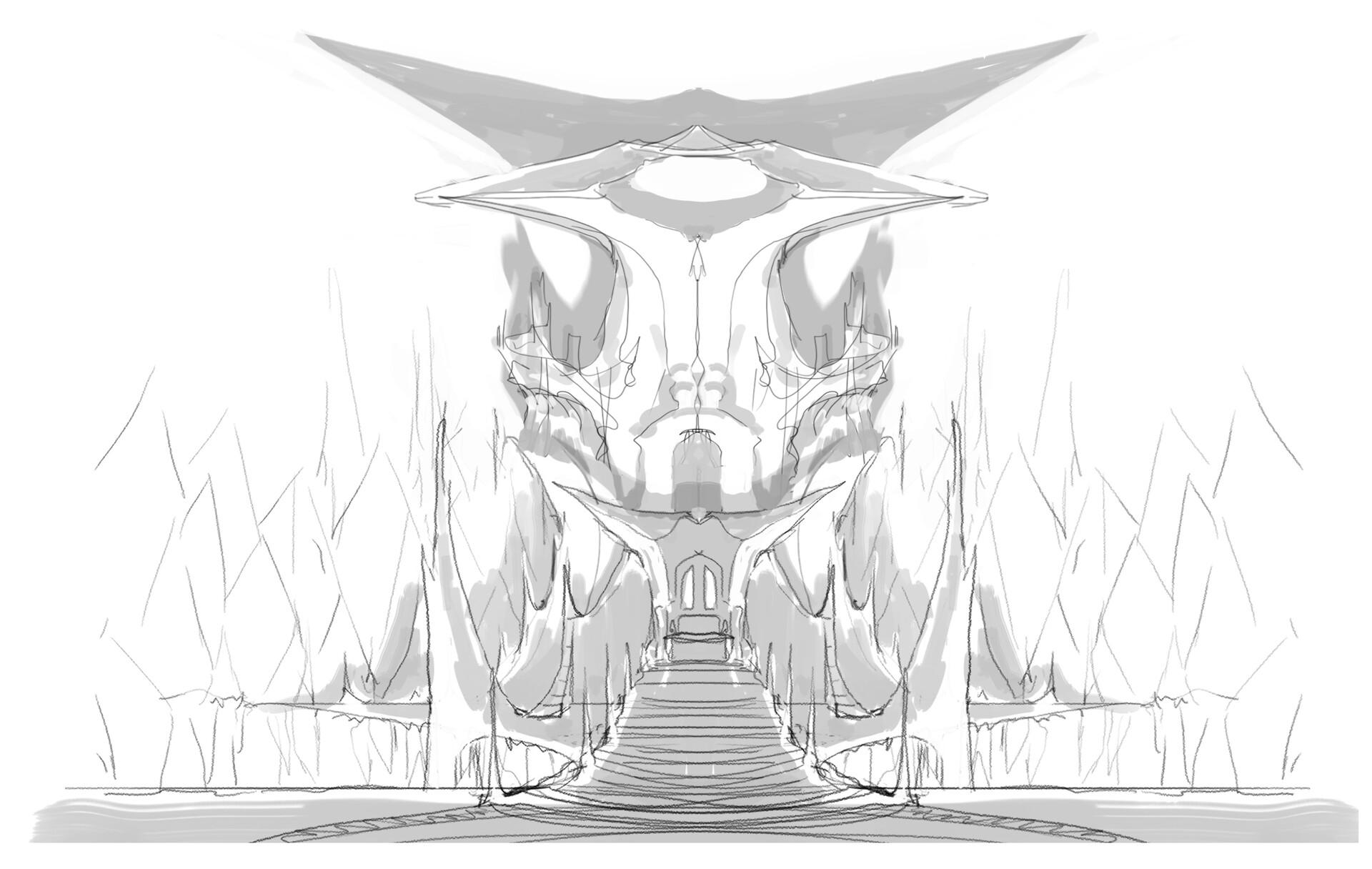 First sketch.