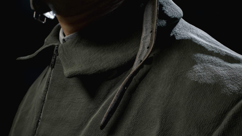 Fabrics closeup