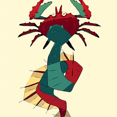 Satoshi matsuura 2019 11 01 crab serpent s
