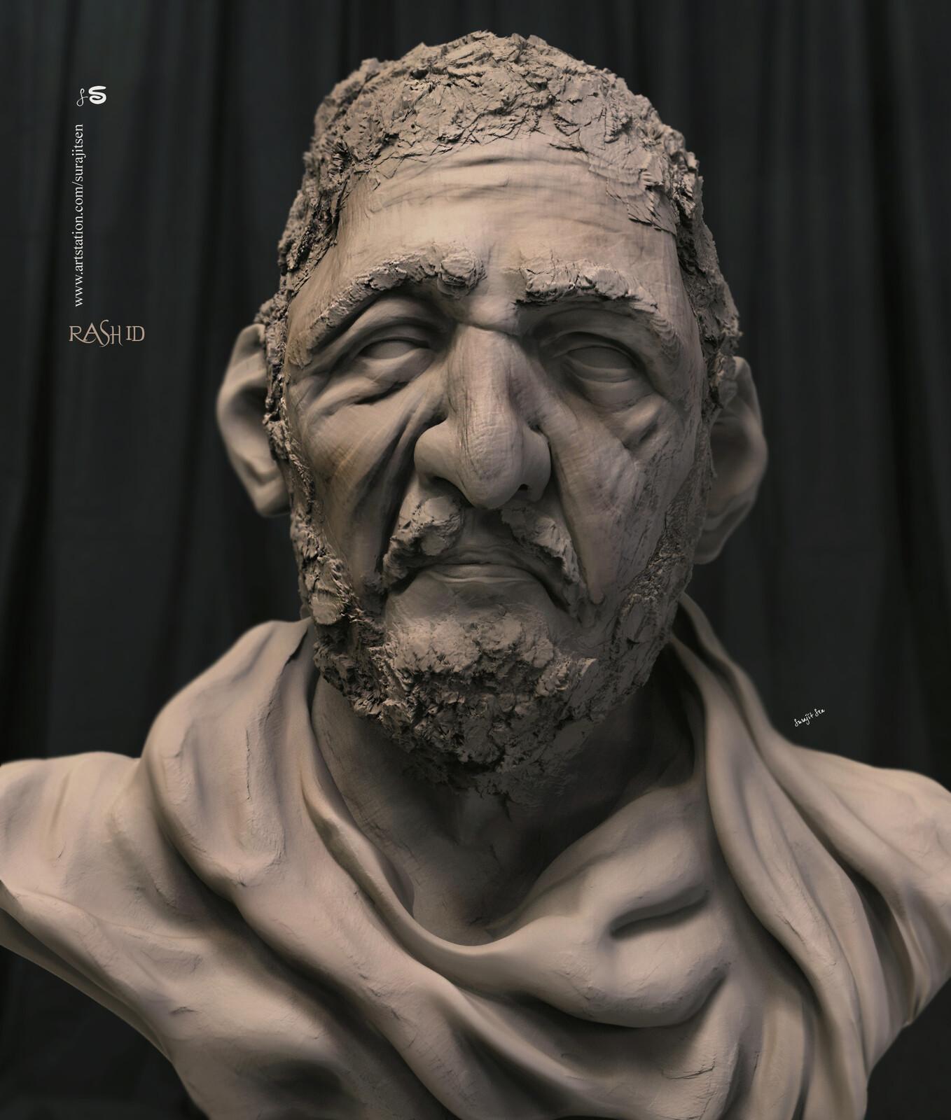 One of my Digital Sculpture. Rashid.
