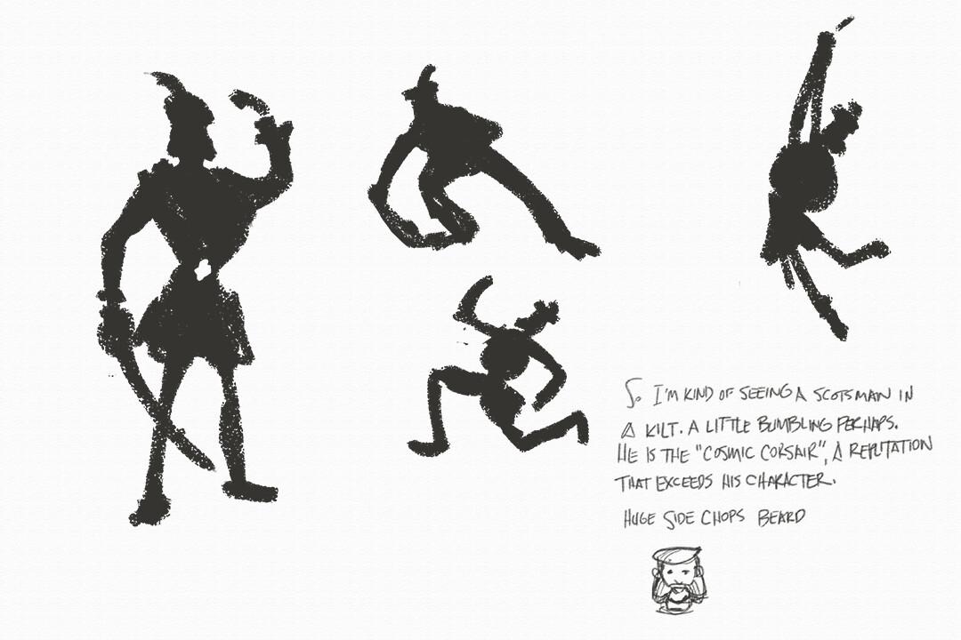 Hugh chapman silhouette