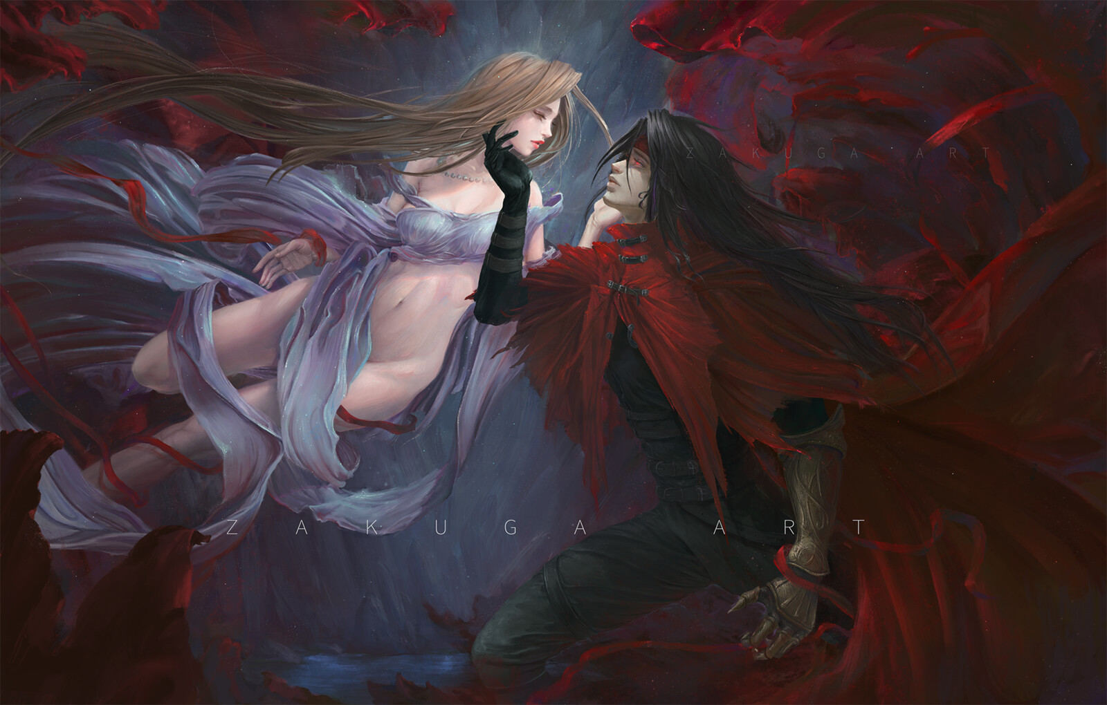 Final Fantasy 7: Vincent and Lucrecia
