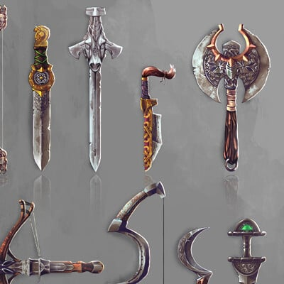 Roxanne chartrand weapons