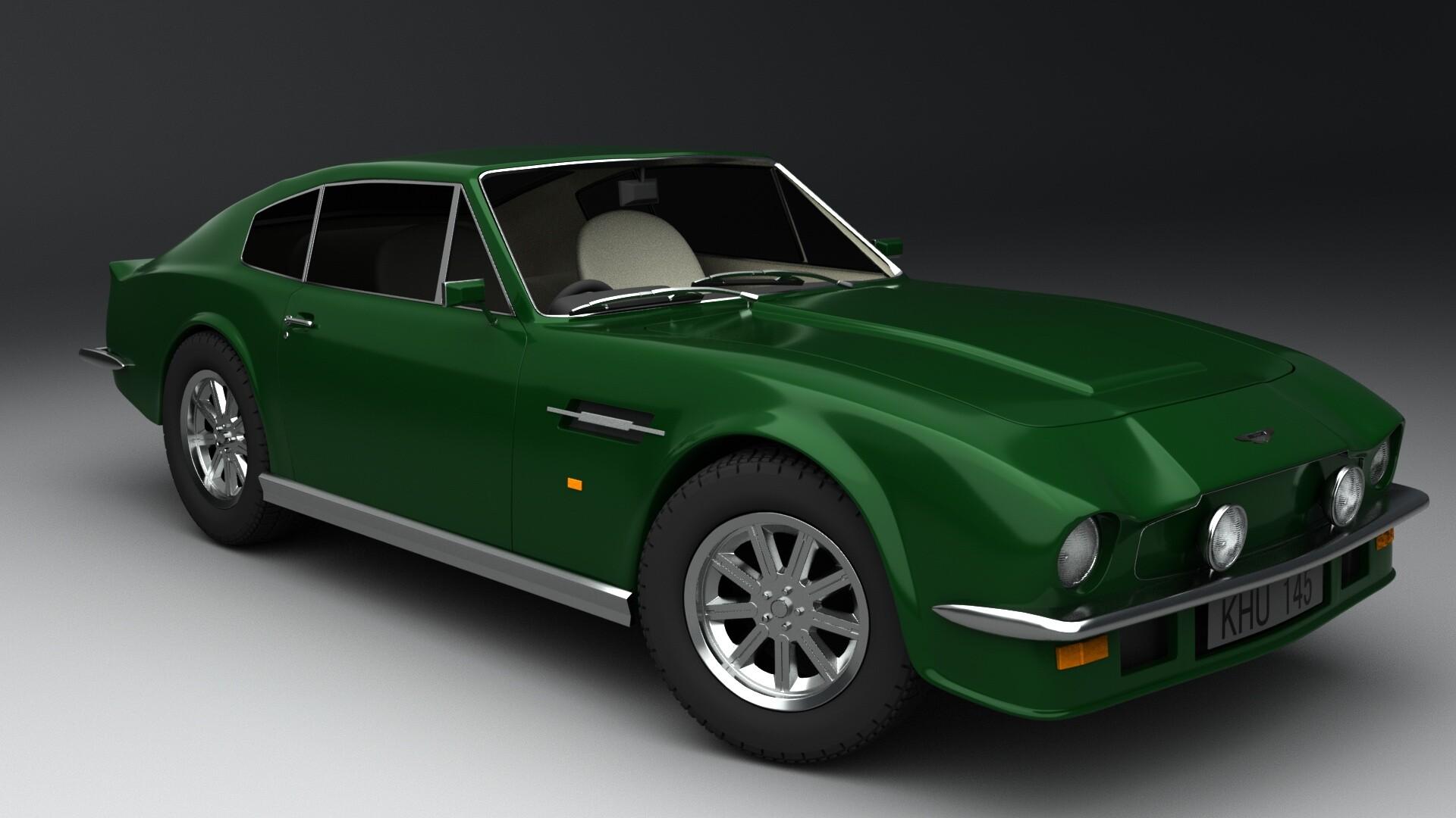 Artstation Aston Martin V8 Vantage 1977 Robbe De Knock