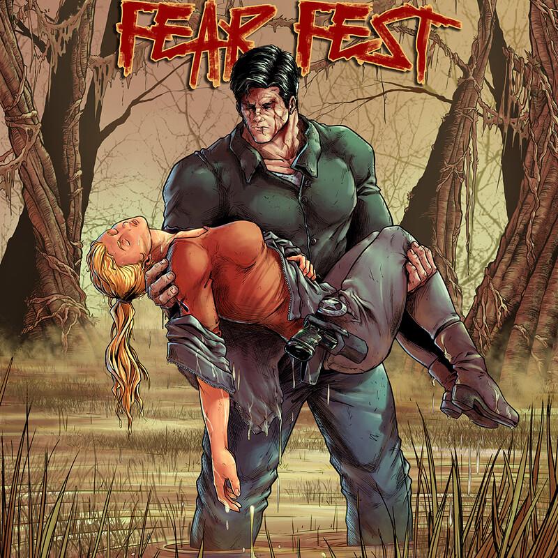 Adam Frankenstein: Fear Fest (Cover)