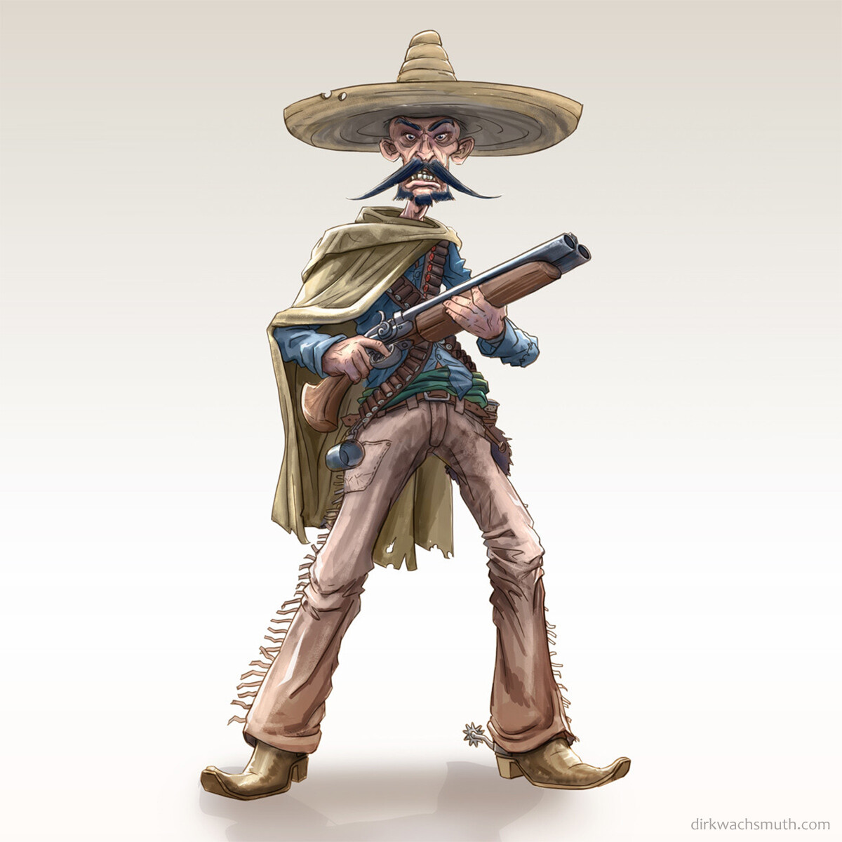 My concept from the 'Wild West Challenge'