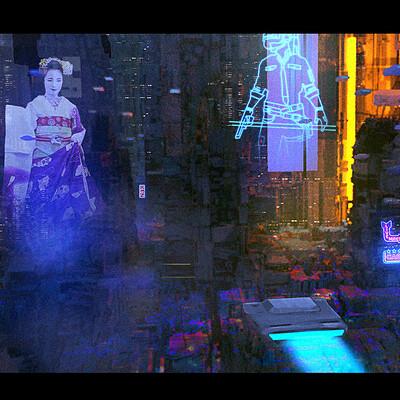 Taha yeasin day50 sci fi slum city
