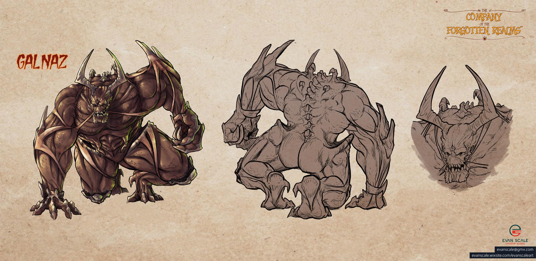Galnaz - Monster/Creature