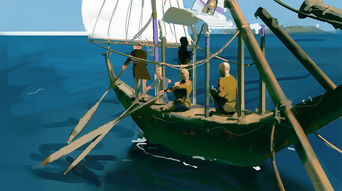 Devin korwin boat 2