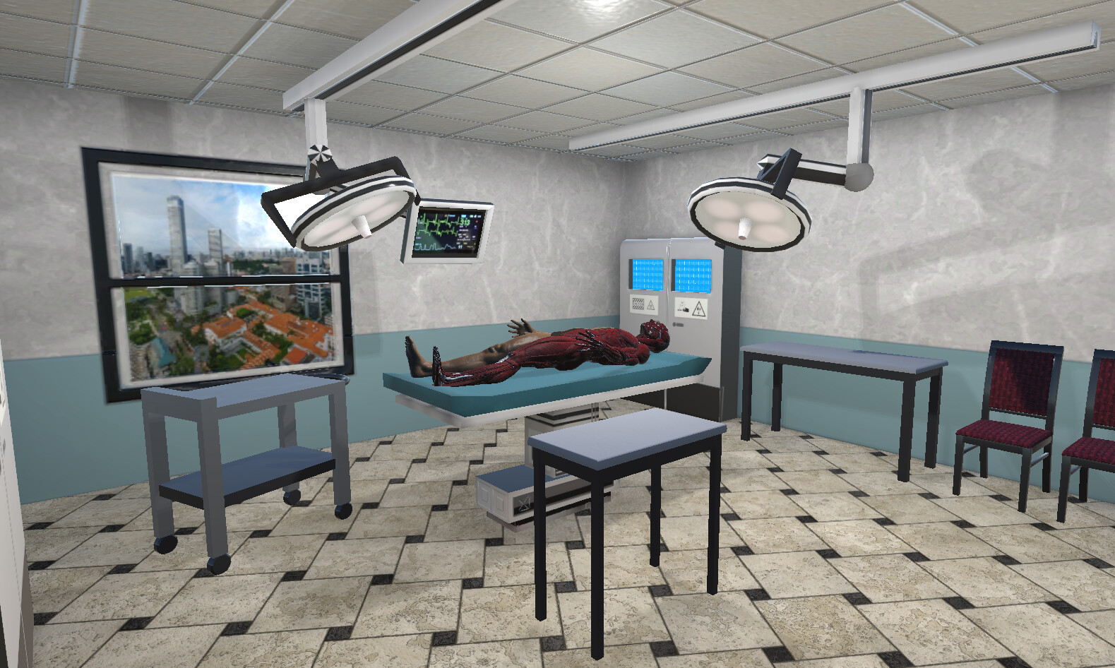 VR Hospital Examination 1 - In Engine