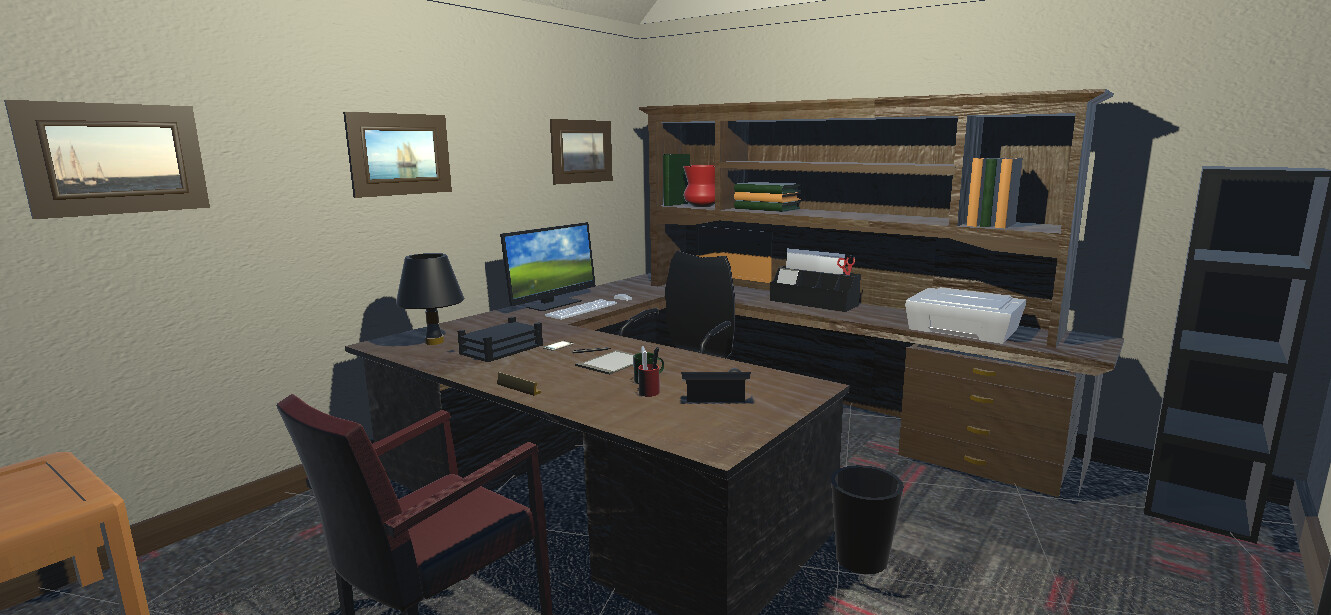VR Office 1 - In Engine