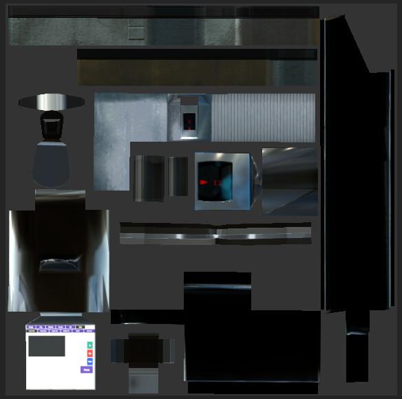 VR Grocery Store Hero Item - UV + Albedo Set 1