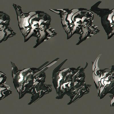 Benedick bana scifi hex designs