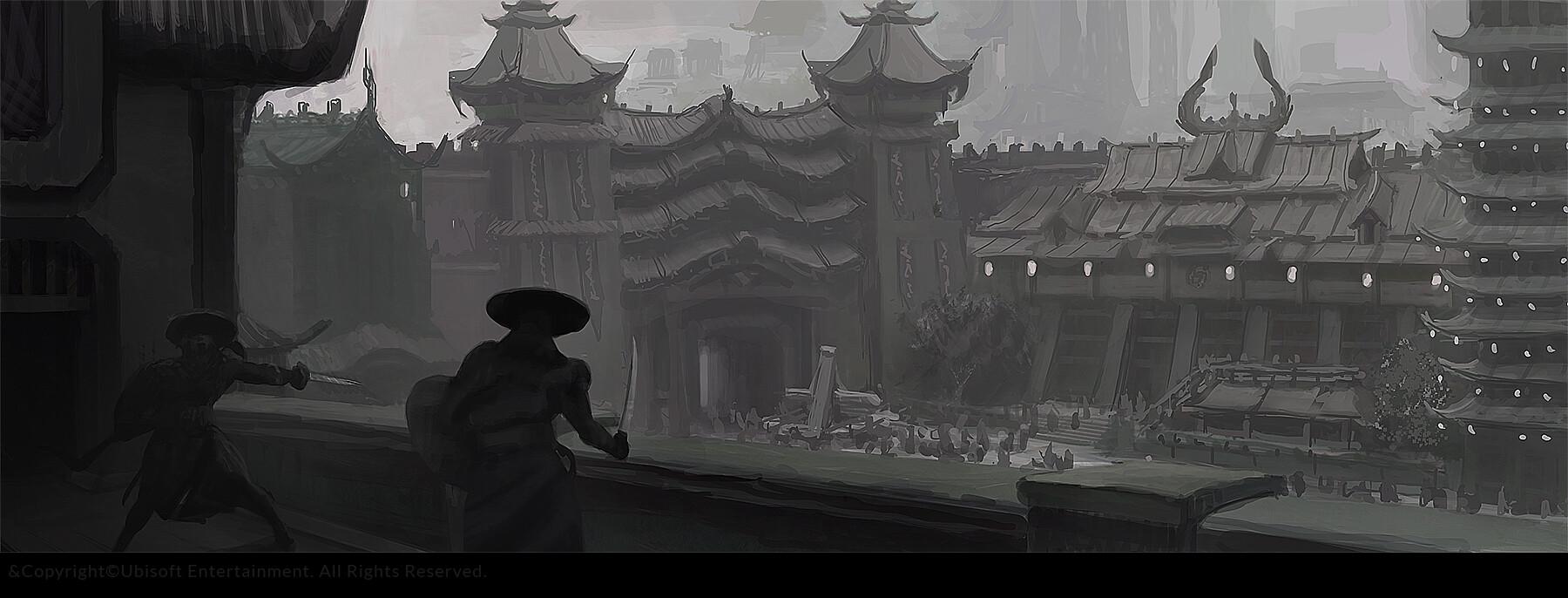 Gilles beloeil fh ev chinese fort rnd 7 bnw sketches gbeloeil