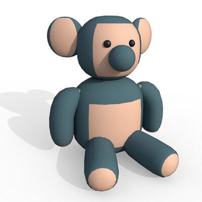 Joseph moniz teddybear001f