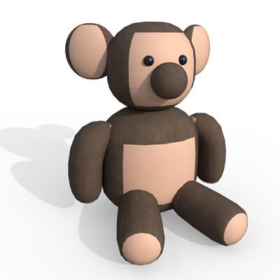 Joseph moniz teddybear001d