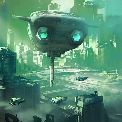 Sparth 10 spaceship and green city final small