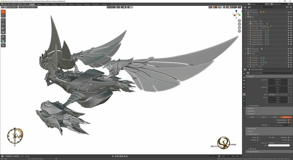Arcadeous phoenix 30