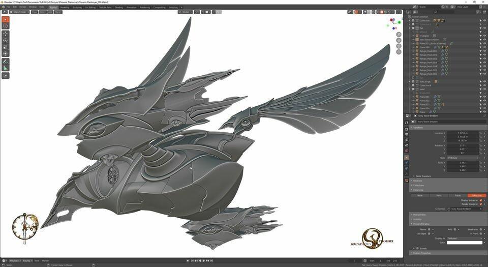 Arcadeous phoenix 31