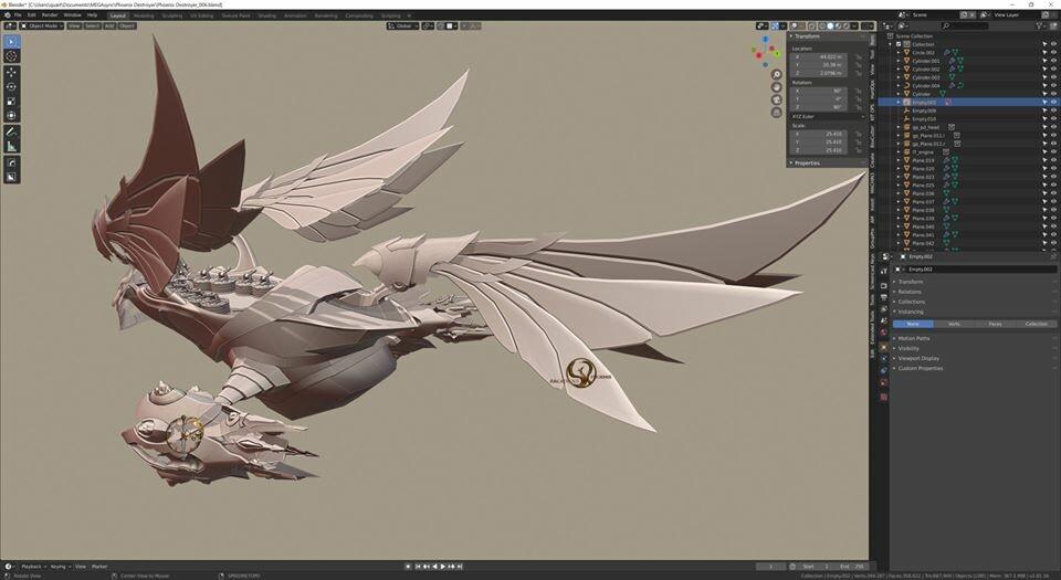 Arcadeous phoenix 21