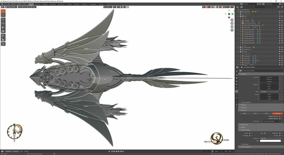 Arcadeous phoenix 27