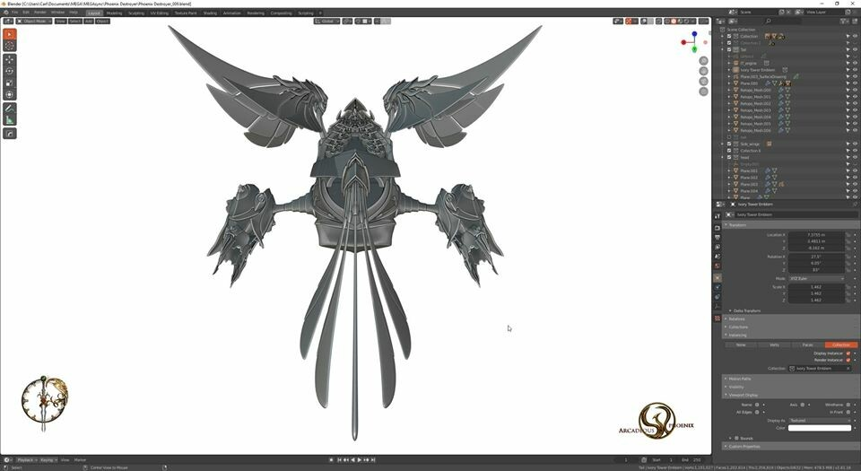Arcadeous phoenix 28