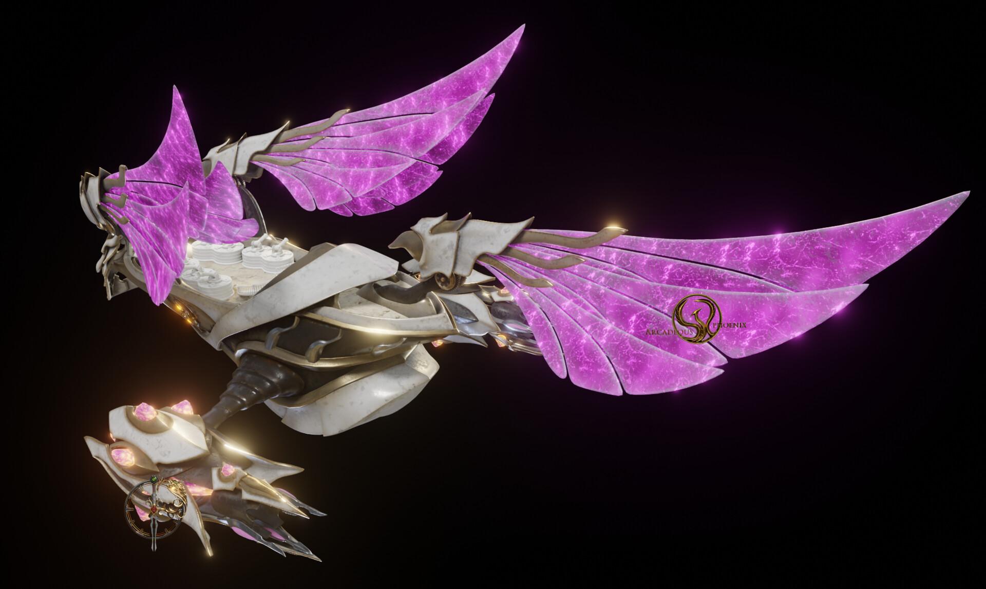 Arcadeous phoenix pd4