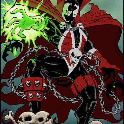 Spawn Cover Illustration Fanart