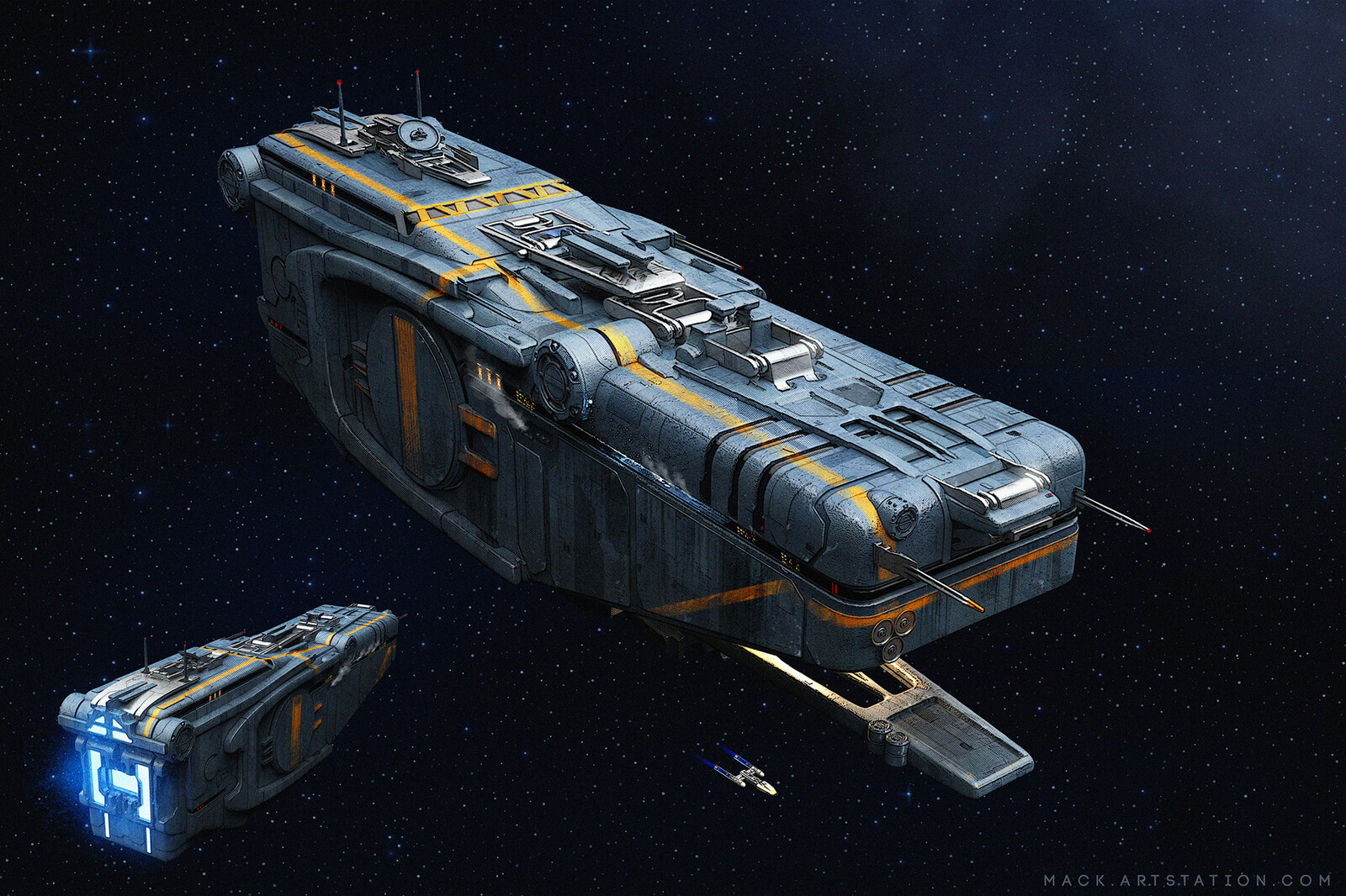 MS-1114 Heavy Freighter