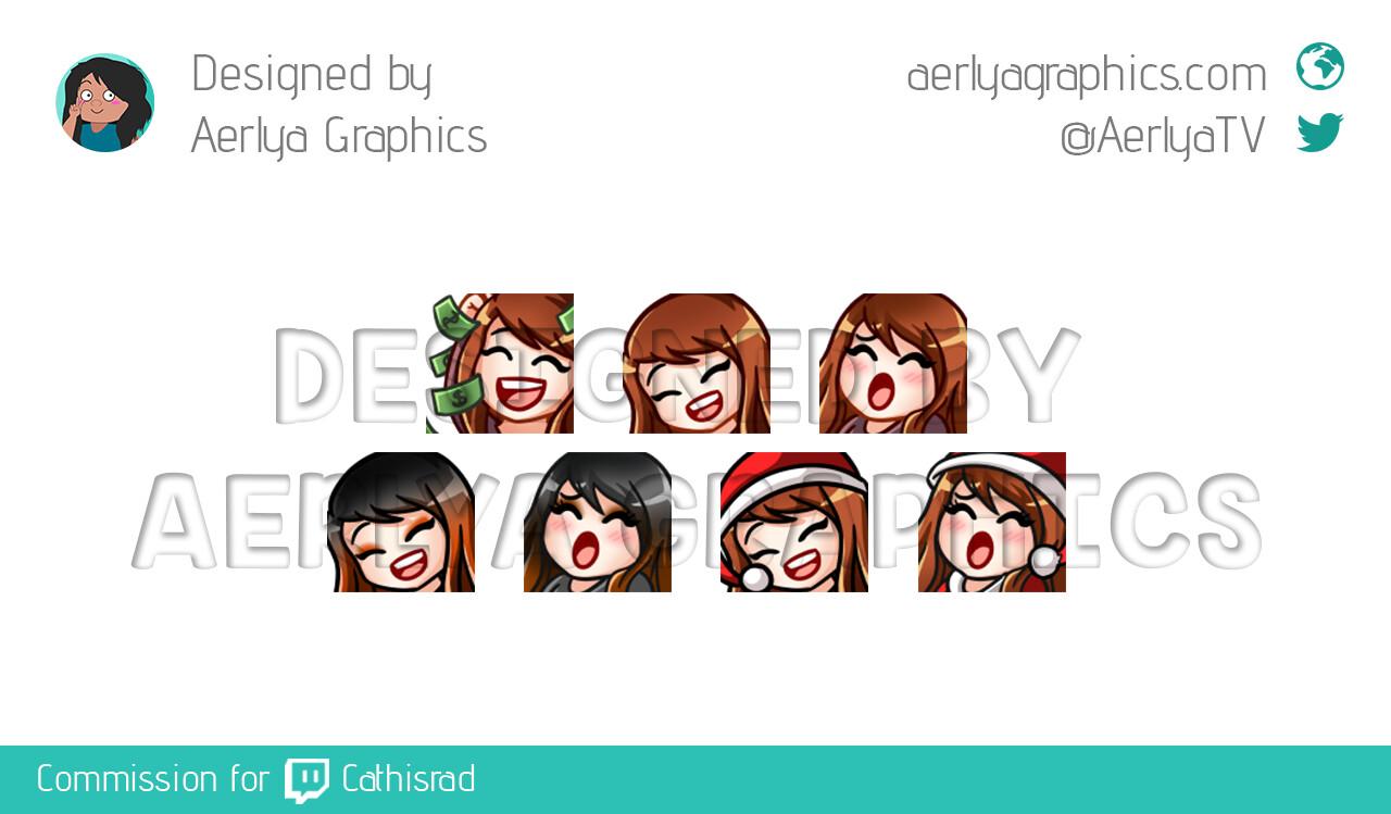 Aerlya graphics sample emotes reg hal xmas