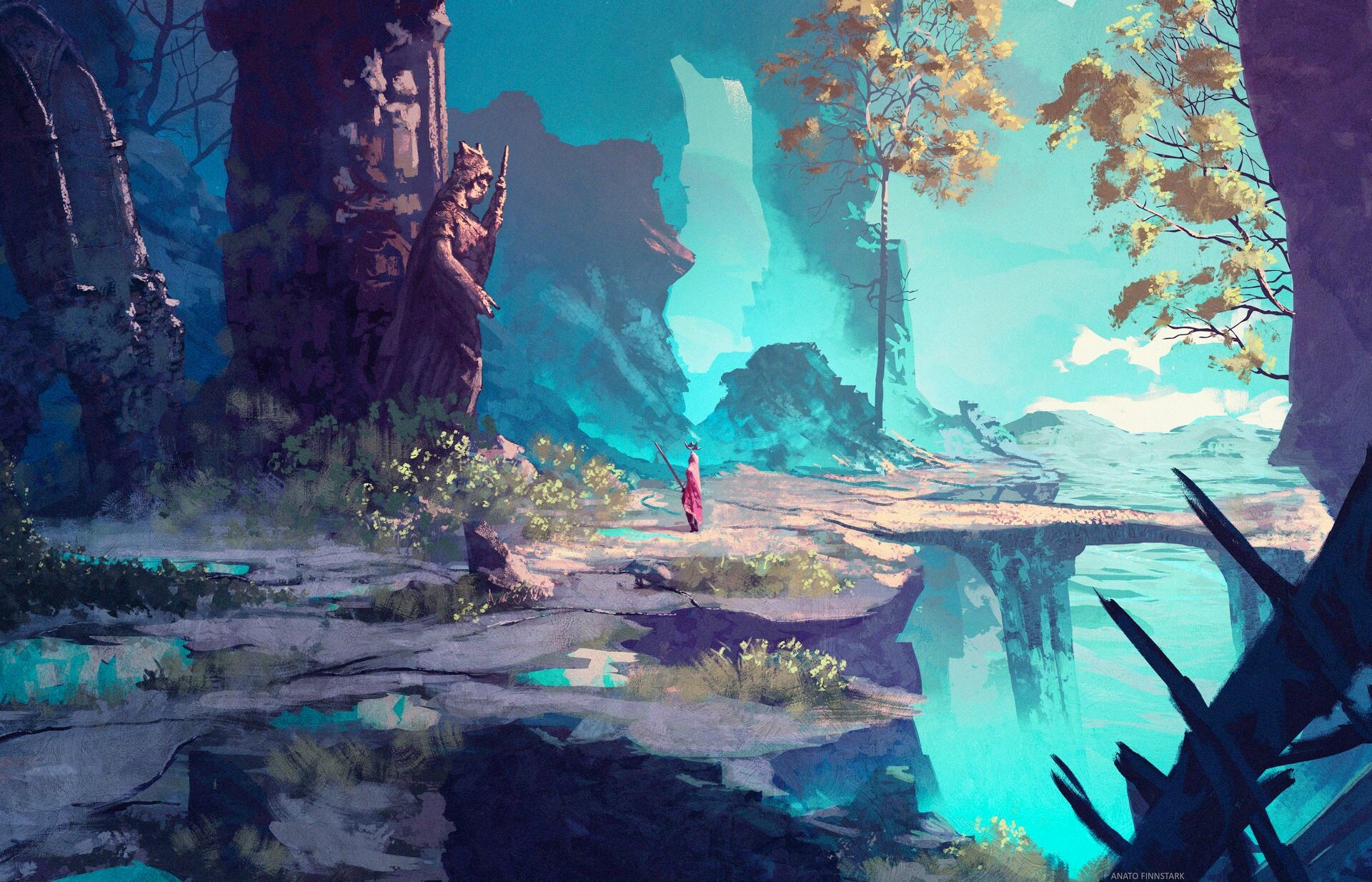 Anato finnstark the king s journey the remains of the past by anatofinnstark dcyyeke fullview