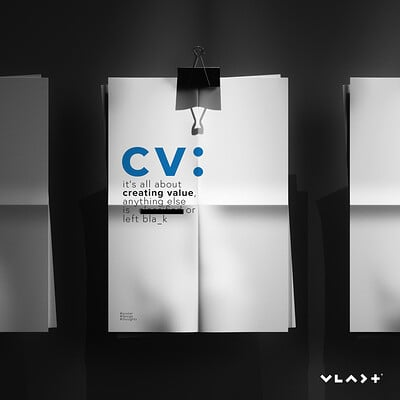 CV, it's all about creating value