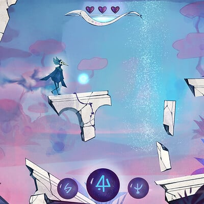 Watercolory Platformer