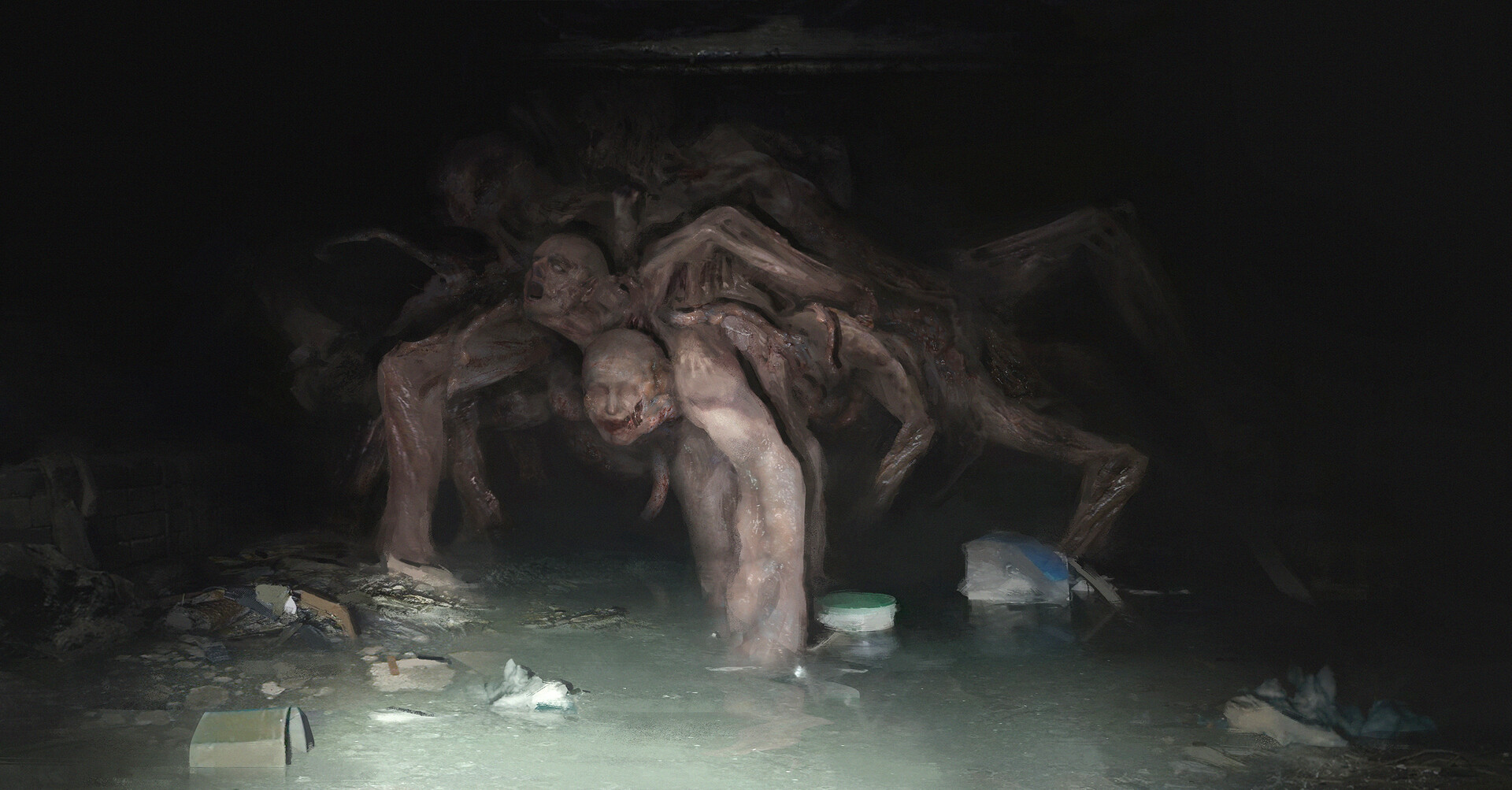ArtStation - Sewer Thing, Zack Cy