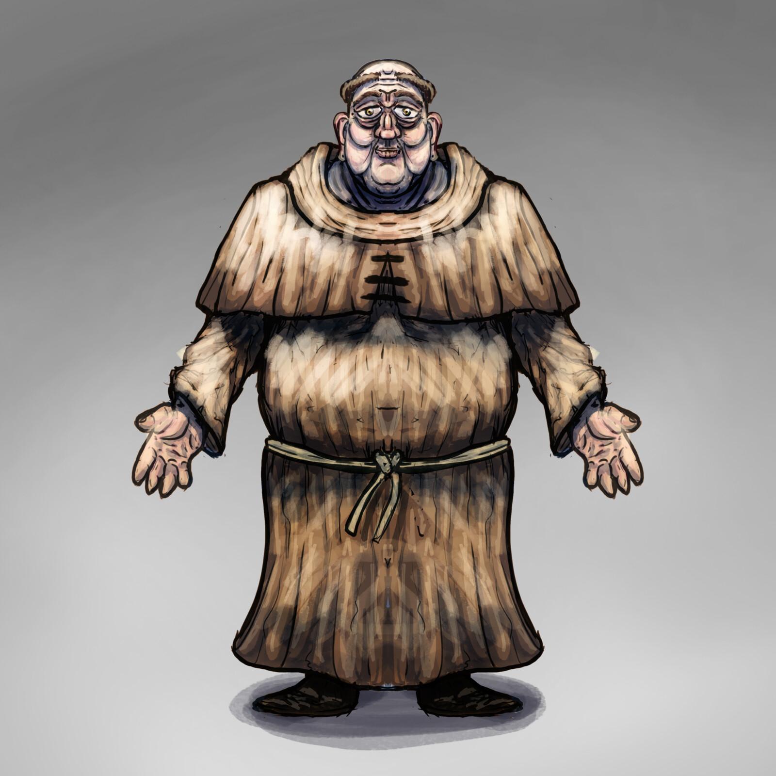 Weaving Widows - NPC Monk
