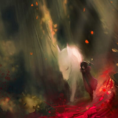 Alex chow the red forest