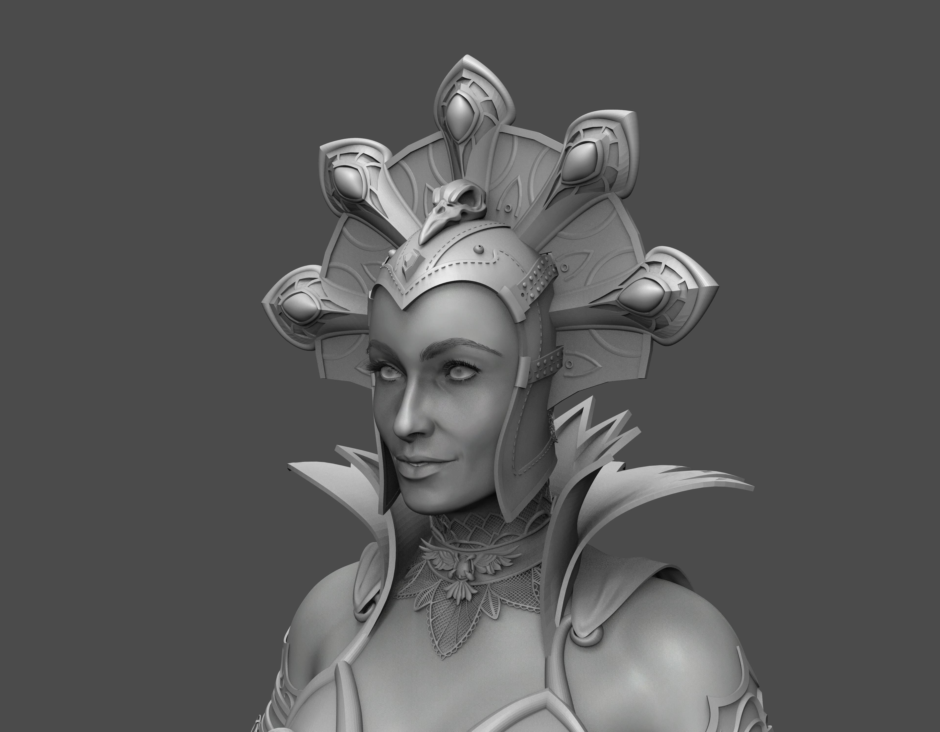 Evil-lyn detail