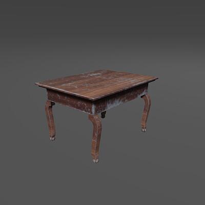 Damian sobczyk finalny render stolik